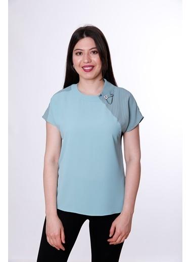 Clıche Bluz Yeşil